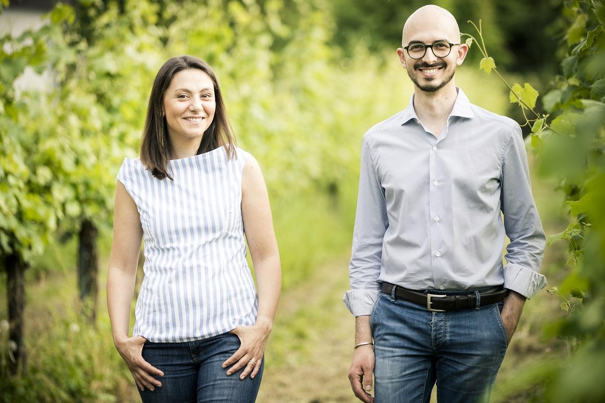 fotografia elena e mario danesi titolari cantina vini san michele
