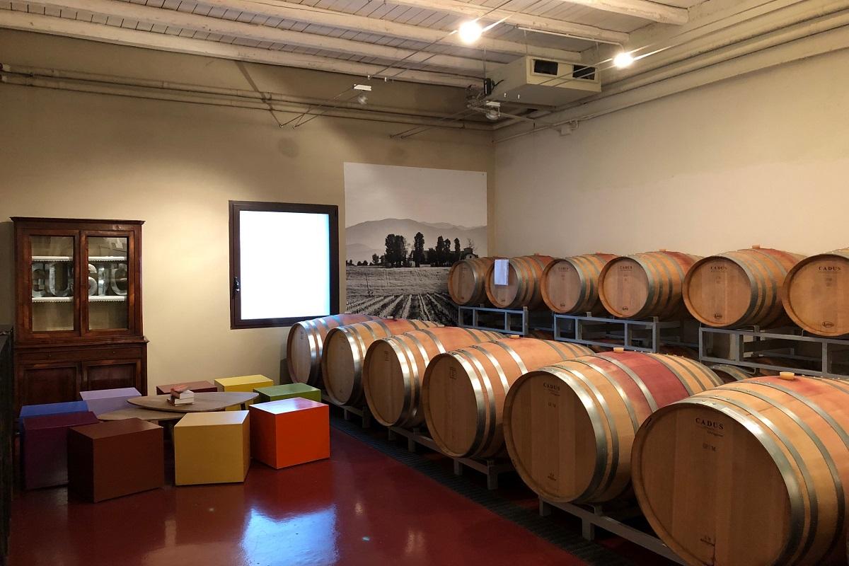 Azienda Vini San Michele vista Sala interna