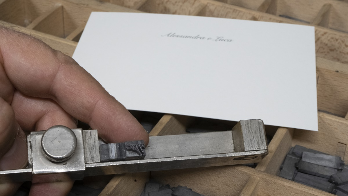 Lavorazione tipografica della cartaria del GArda