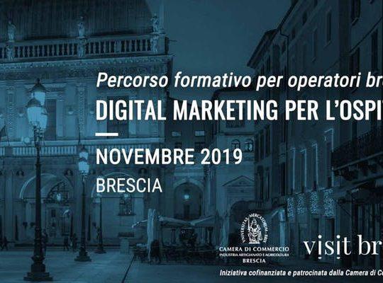 Corso Digitalizzazione per albergatori, Brescia