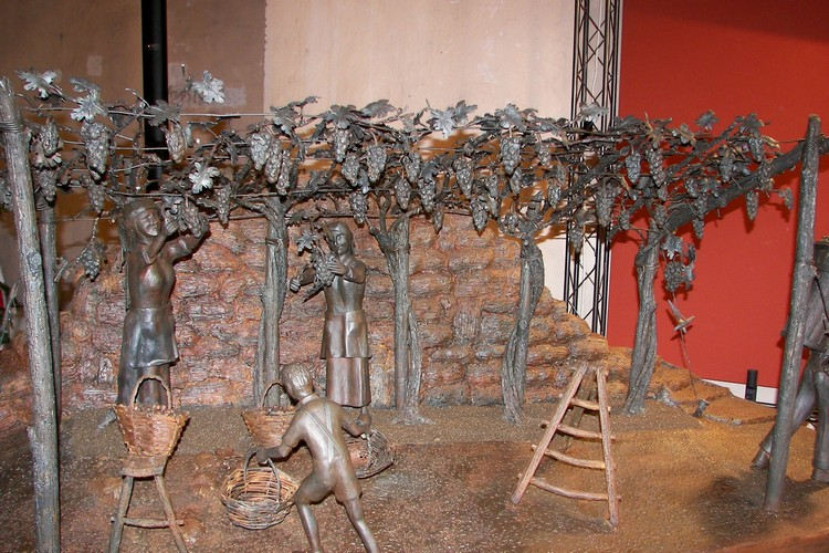 Opera in ferro della carpenteria Bonometti di Gussago
