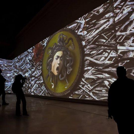 mostra interattiva Caravaggio