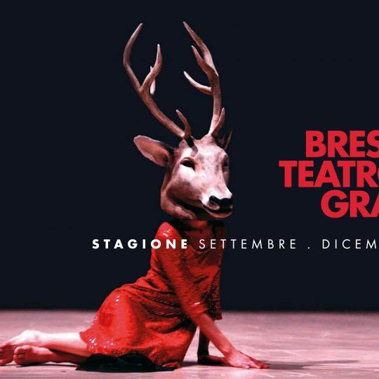 Teatro Grande Brescia - manifesto stagione settembre - dicembre 2020