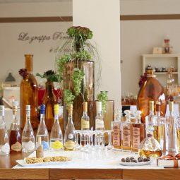 Prodotti della distilleria Peroni di Gussago