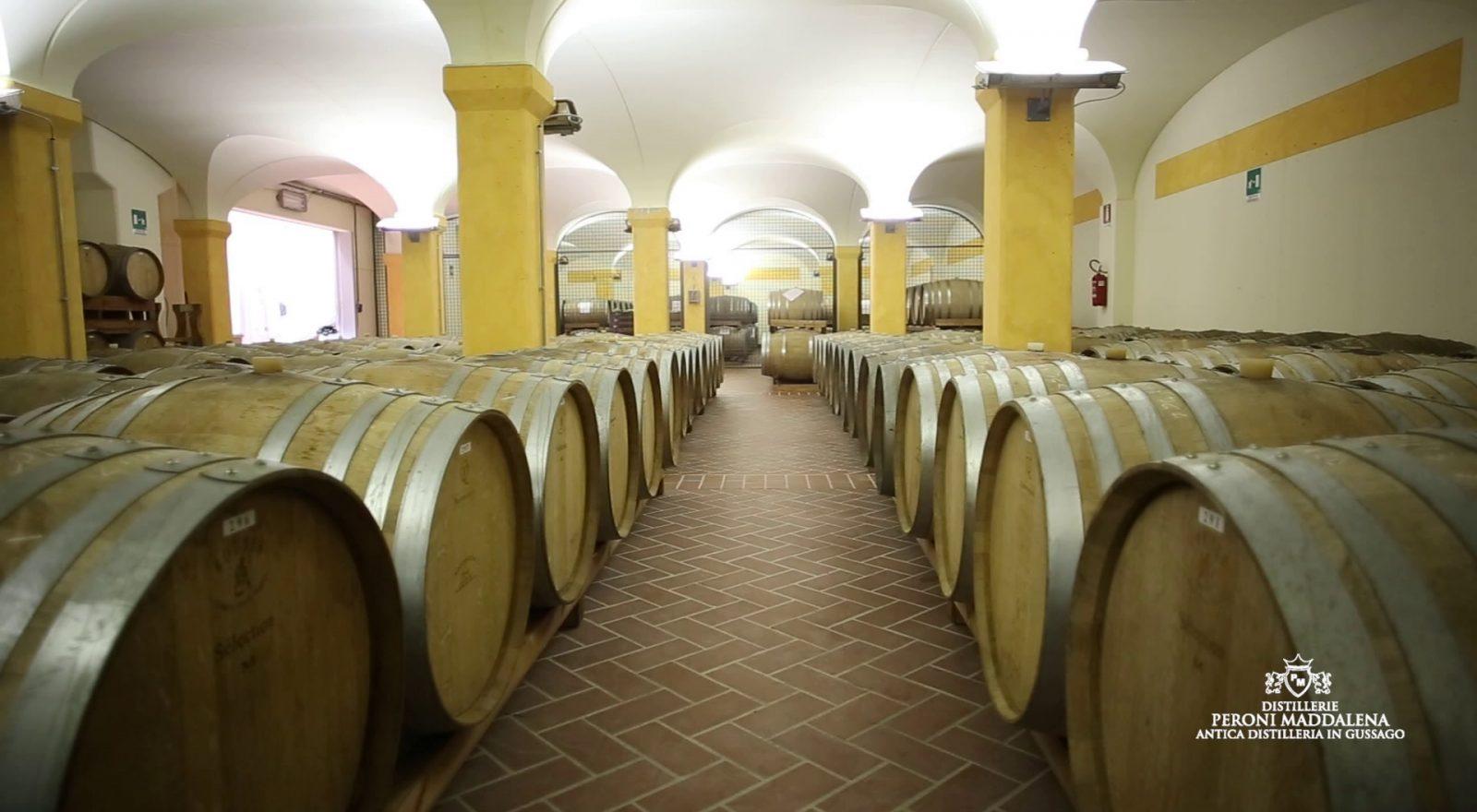 Interno della Distilleria Peroni di Gussago