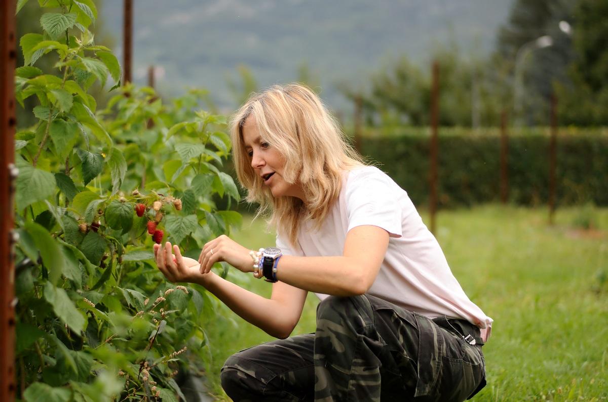 Sabrina Lee Massa, Titolare dell'Azienda Agricola buoni Frutti