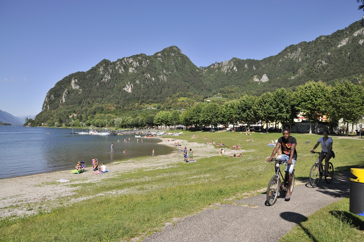 Ciclabile lago d'Idro