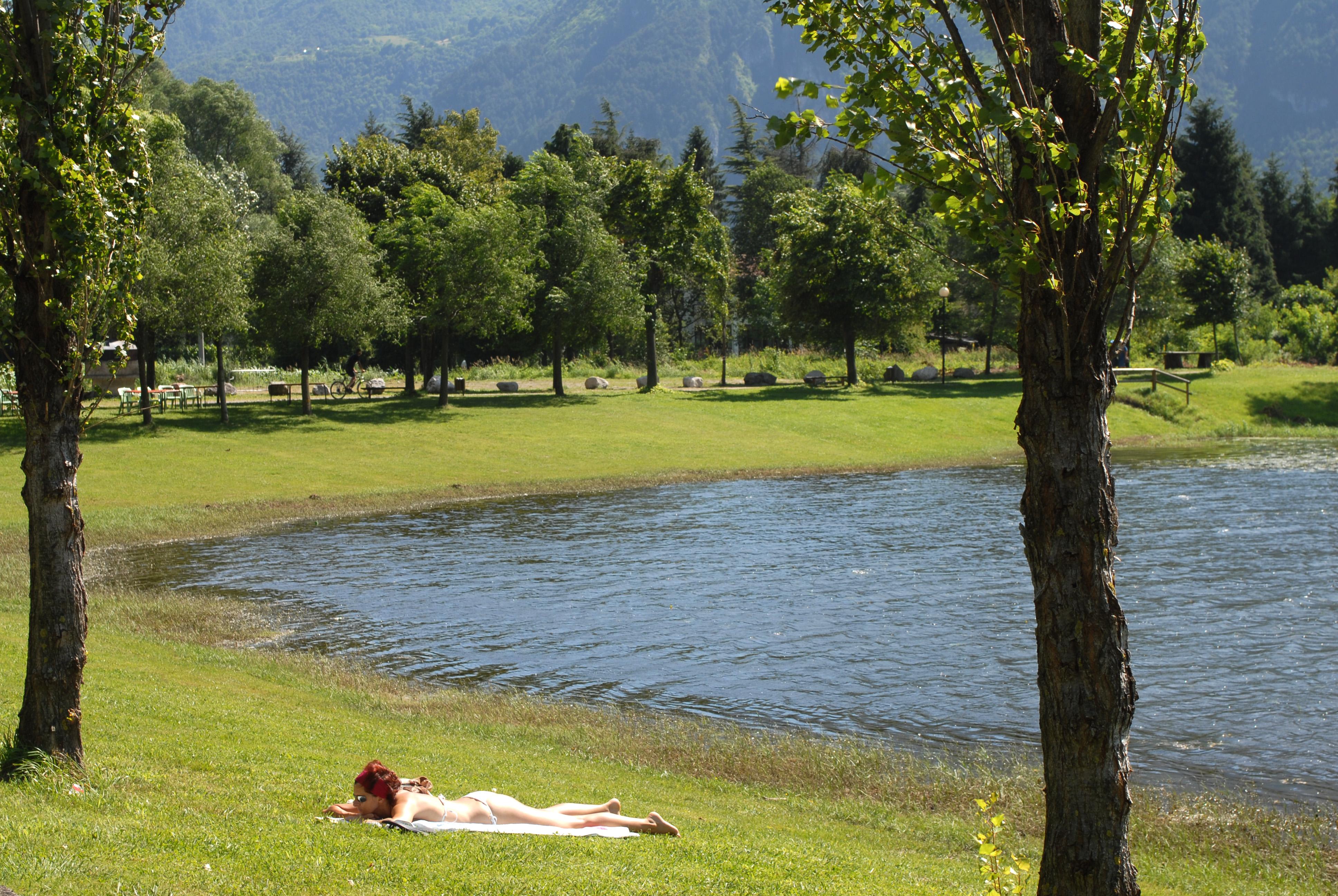 Spiaggia lago d'Idro, Ponte Caffaro