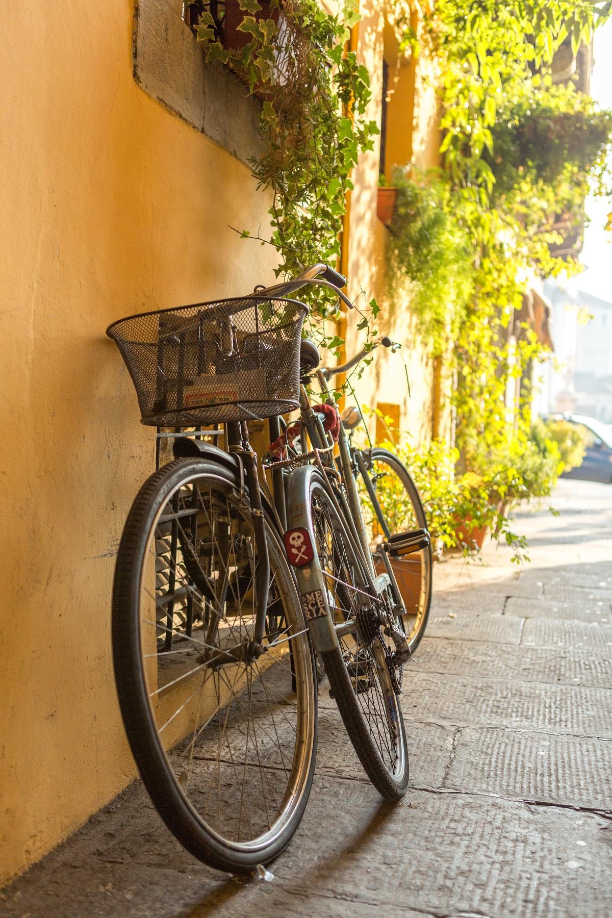 In bici a Brescia