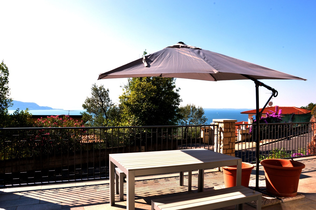 Residence Virgilio, terrazza