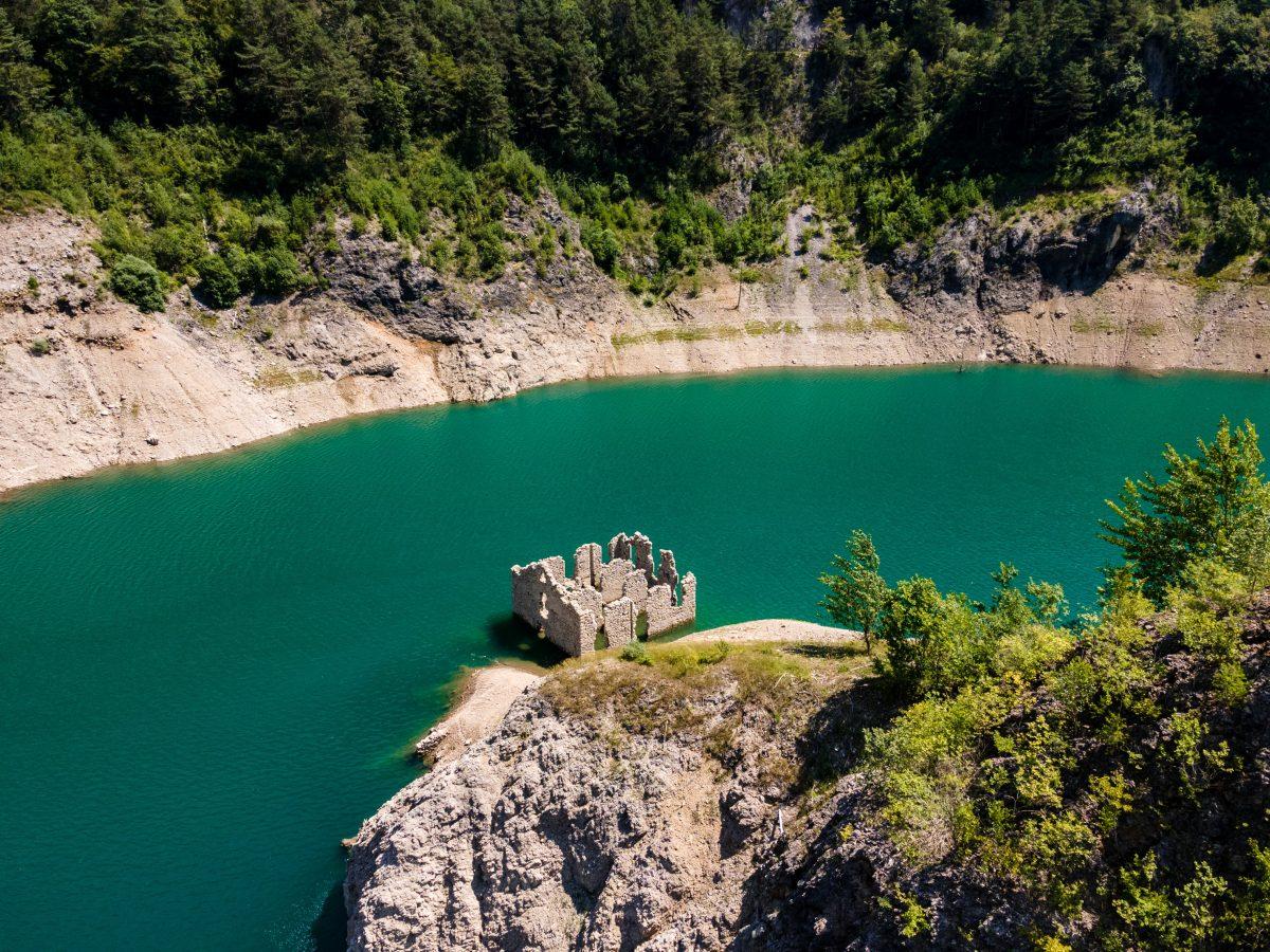 Lago di Valvestino Alto Garda Dogana