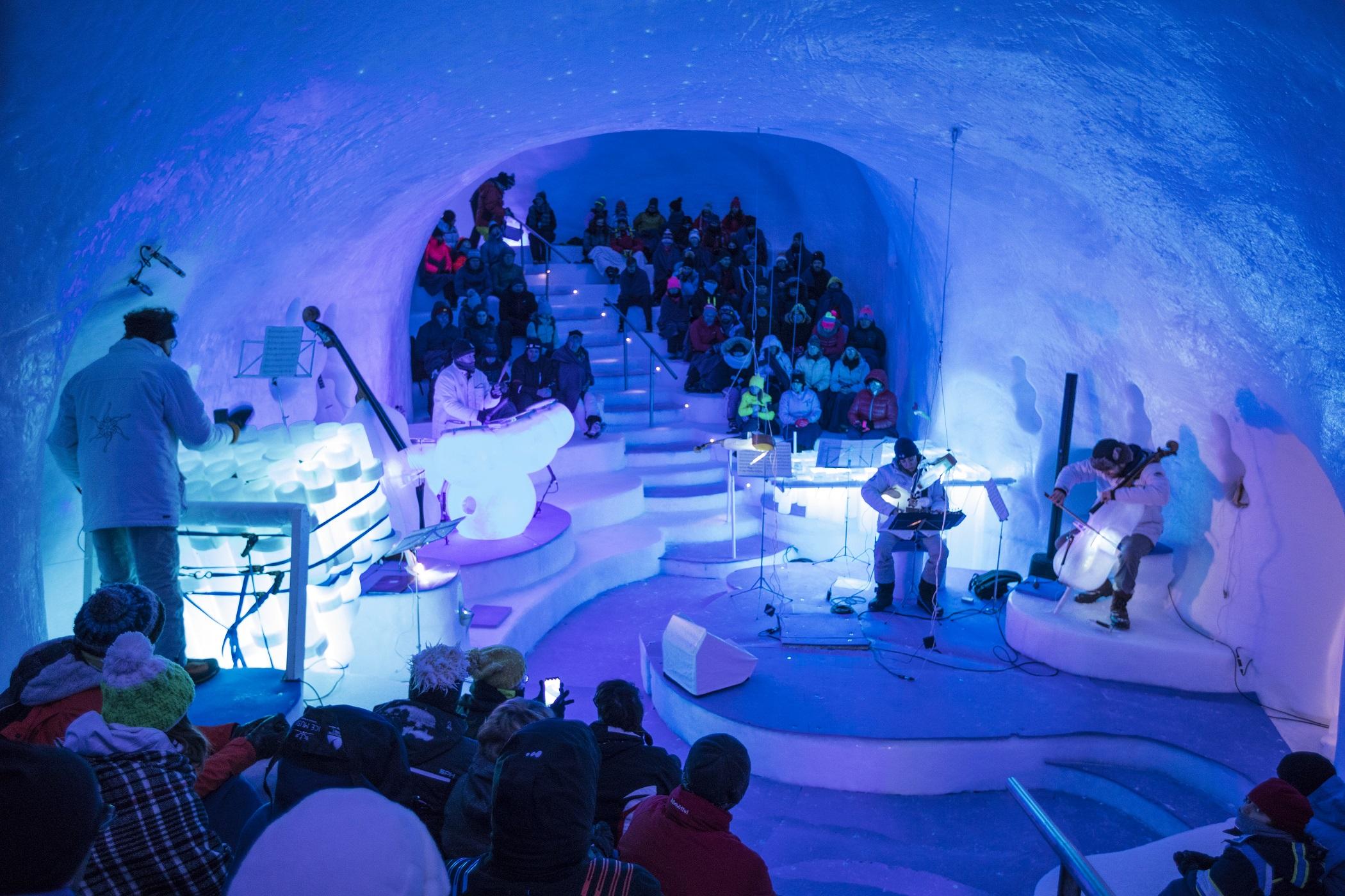 Ice Music, Ponte di Legno
