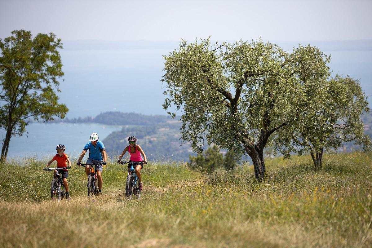 Cicloturismo sul lago di Garda