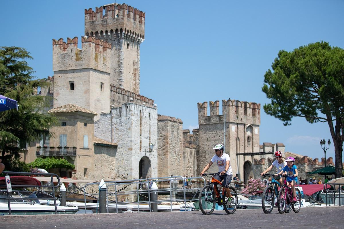 Cicloturismo, lago di Garda