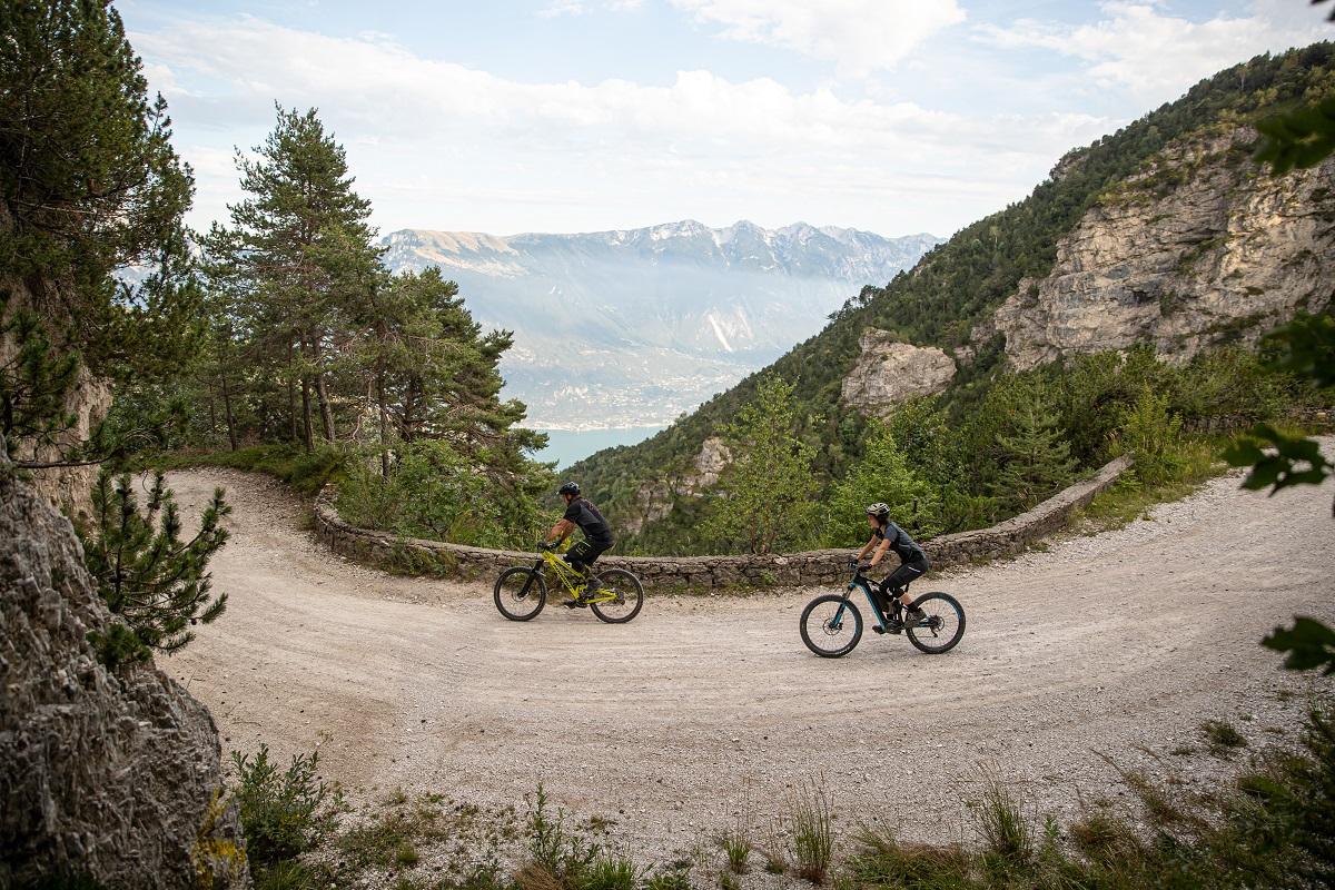 Mountain Bike, lago di Garda