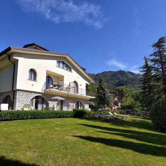 Villa San Valentino, giardino