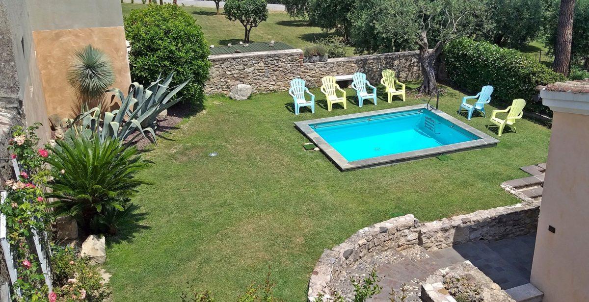Giardino e piscina, Garni del Gardoncino