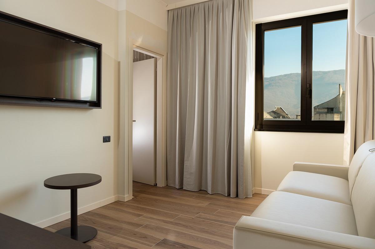 Hotel Hilton Brescia, salotto