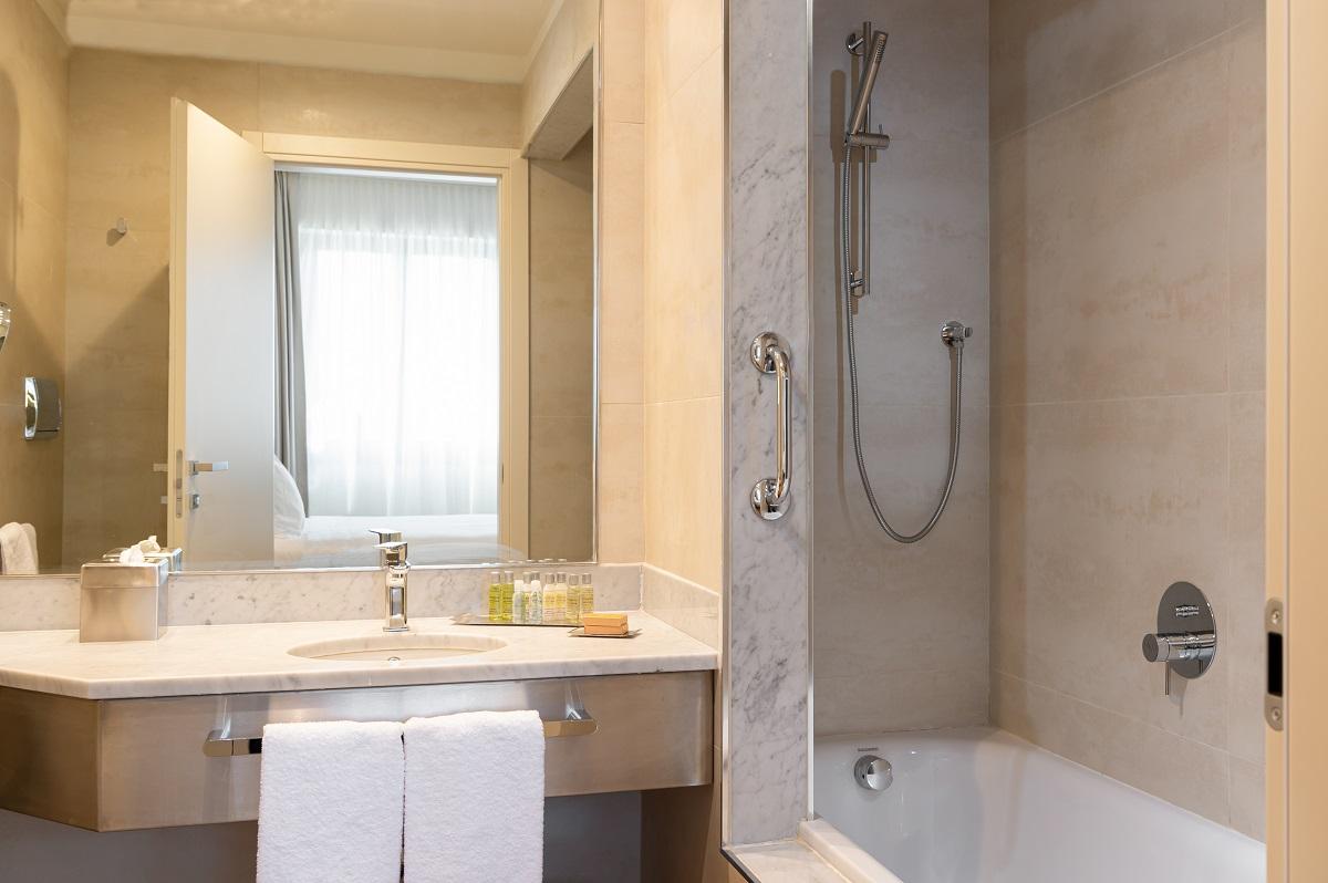Hotel Hilton Brescia, bagno