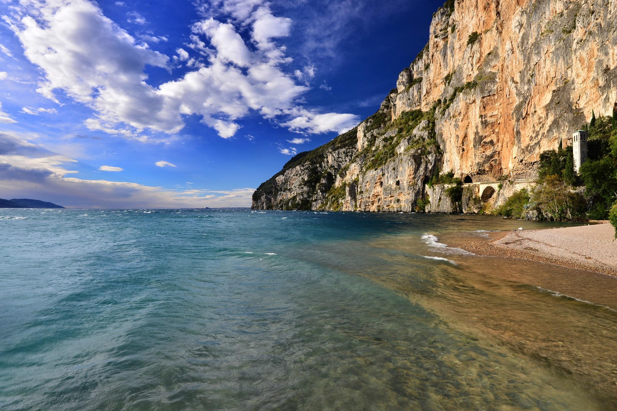Spiaggia Prà de la Fam, Tignale