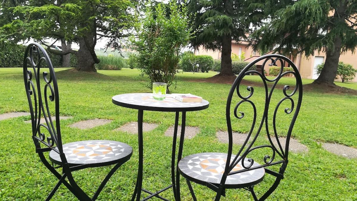 Prato Verde Residence, parco
