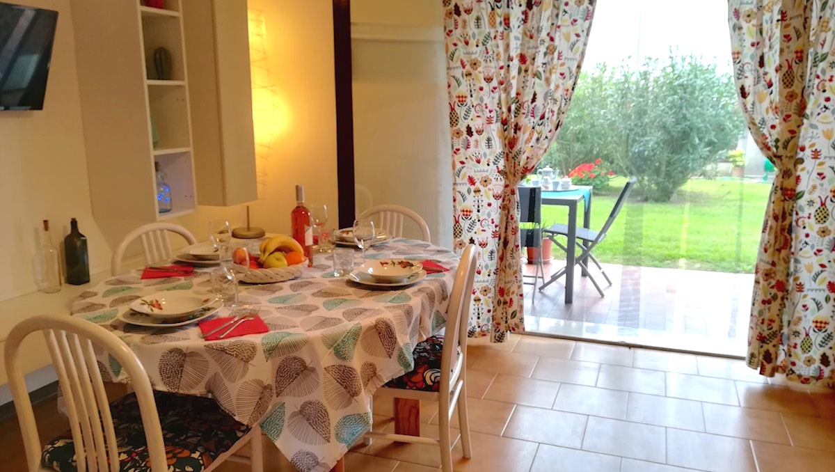 Prato Verde Residence, Interno appartamento Ortensia