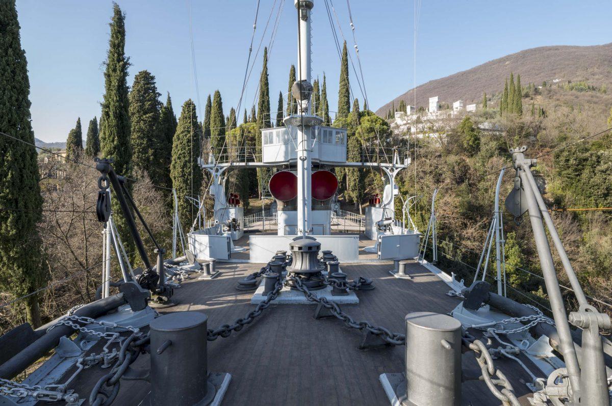 La Nave Puglia al Vittoriale degli Italiani