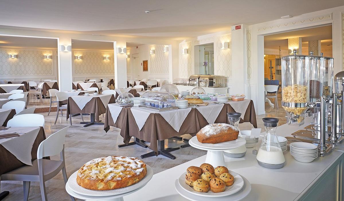 Hotel Du Lac, sala colazione