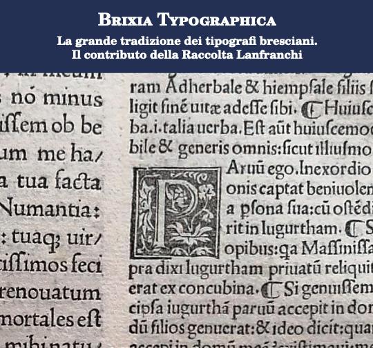 immagine mostra brixia typographica palazzolo sull'oglio