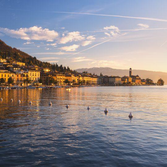 Salò Lago di Garda, panorama