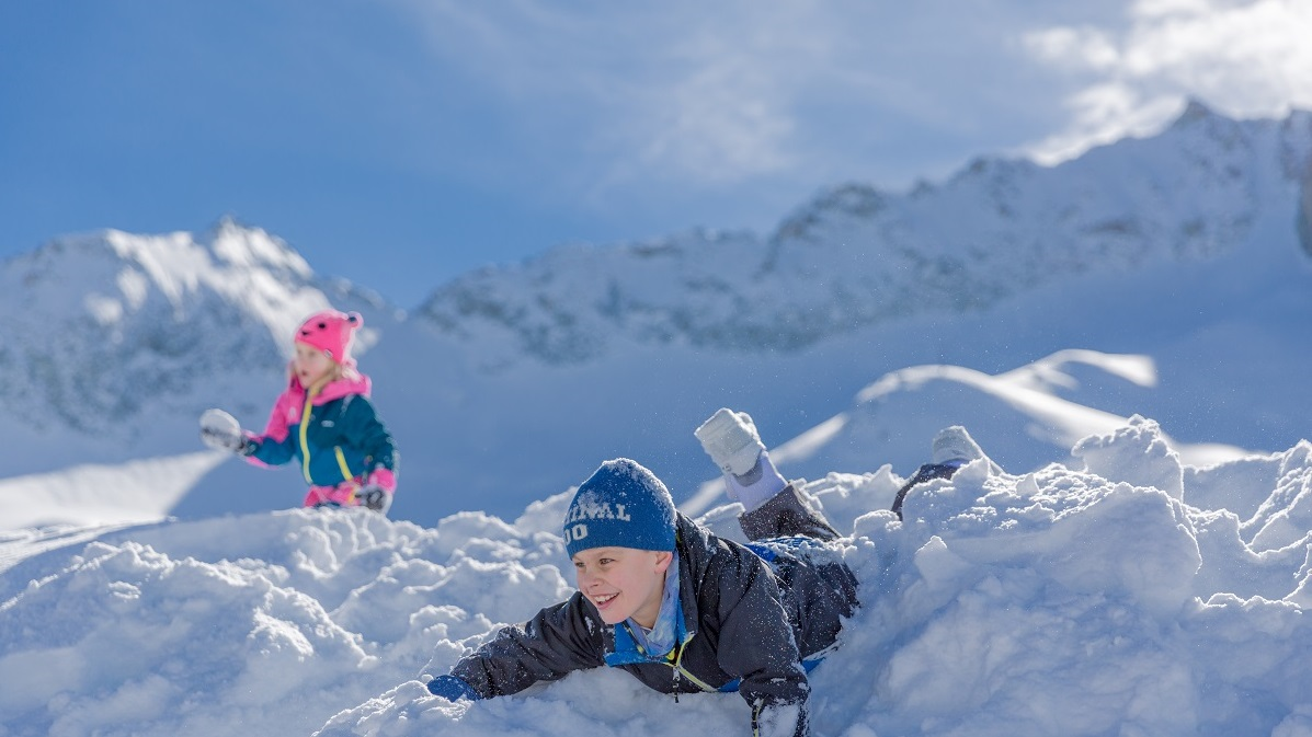 Sulla neve con i bimbi