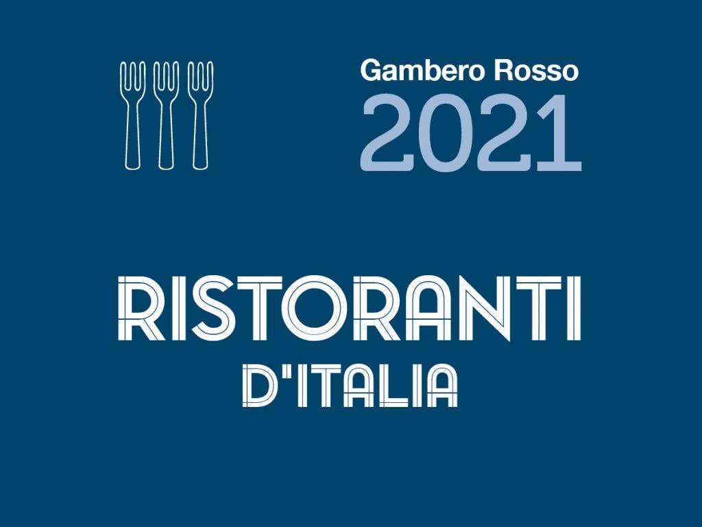 Guida ristoranti d'Italia 2021 Gambero Rosso - copertina