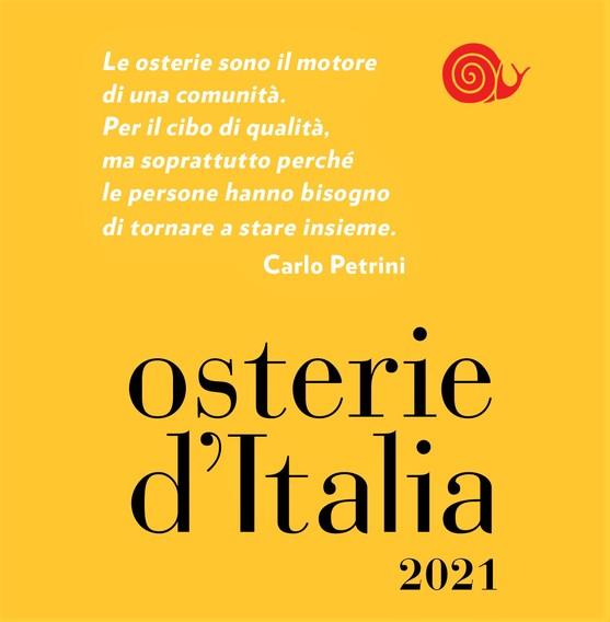 Osterie d'Italia 2021 - Slow Food