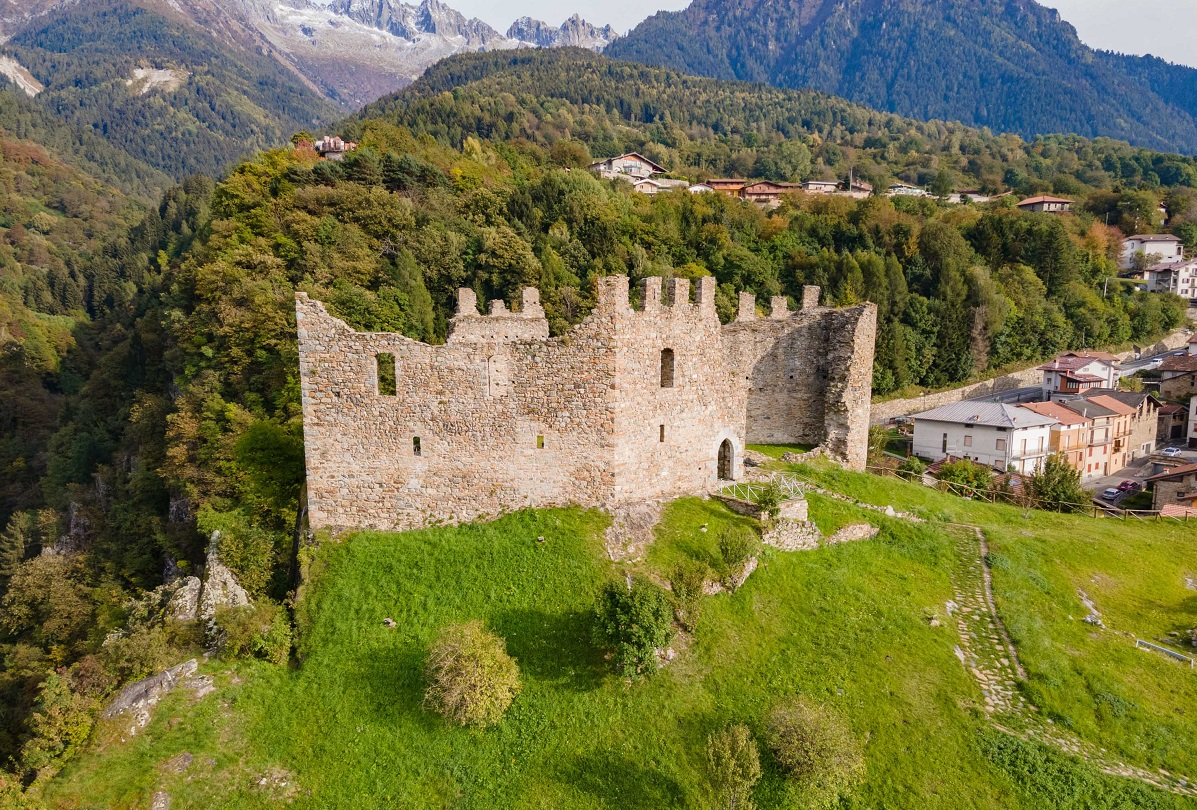 Castello di Cimbergo in Valle Camonica