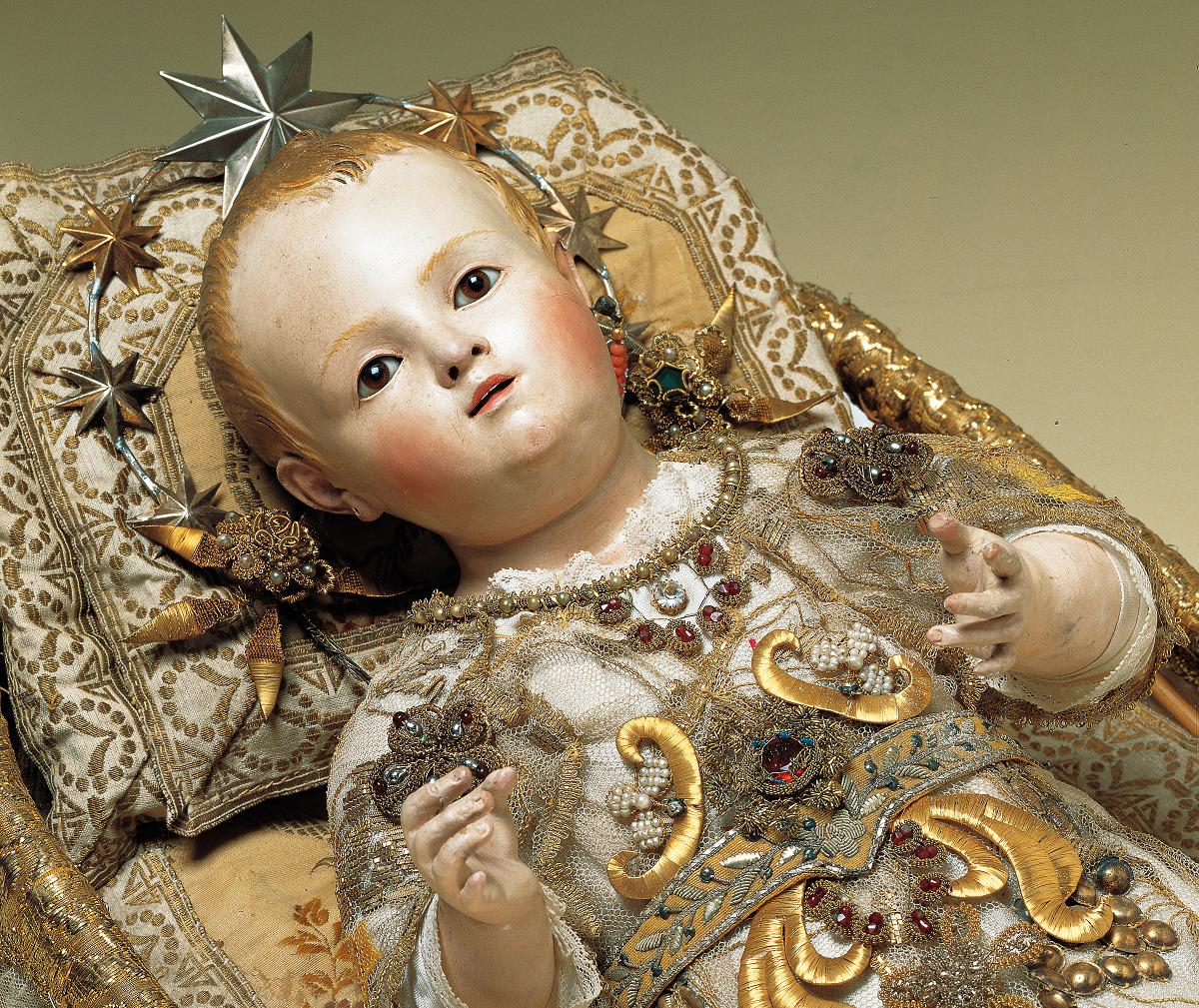 statua gesù bambino Museo Divino Infante