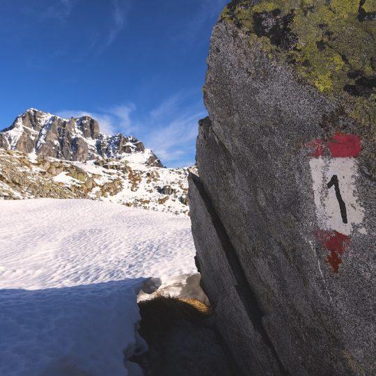 Sentiero nr 1 Alta Via dell'Adamello in Valle Camonica