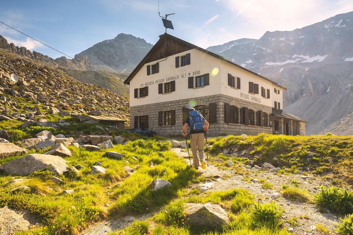 Valle Camonica Rifugio Garibaldi sentiero nr 1