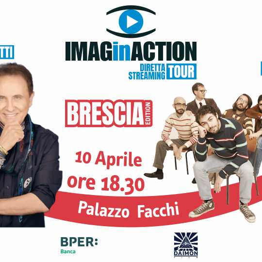 IMAGinACTION in tour 2021 - tappa di Brescia