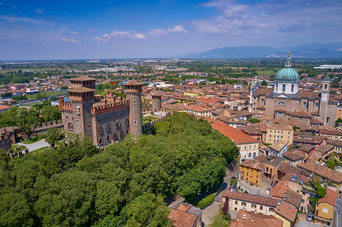 Montichiari, Castello Bonoris e Duomo