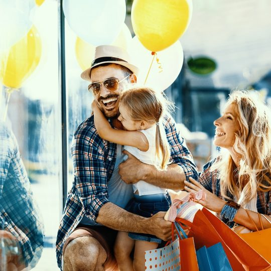 Shopping in famiglia