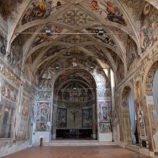 Interno Chiesa San Cristo, Brescia