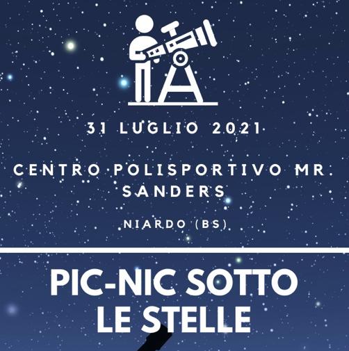 picnic sotto le stelle niardo - 31 luglio 2021