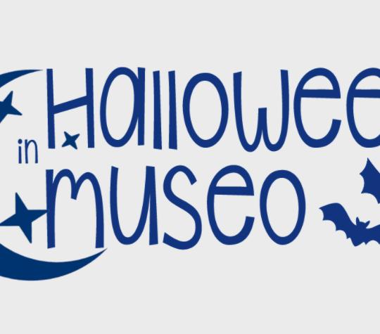 logo halloween in museo - brescia 2021