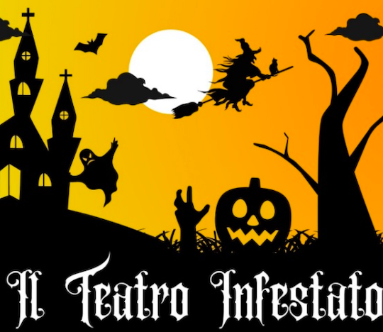 il teatro infestato - evento halloween botticino copertina